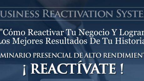 Seminario Presencial: REACTíVATE